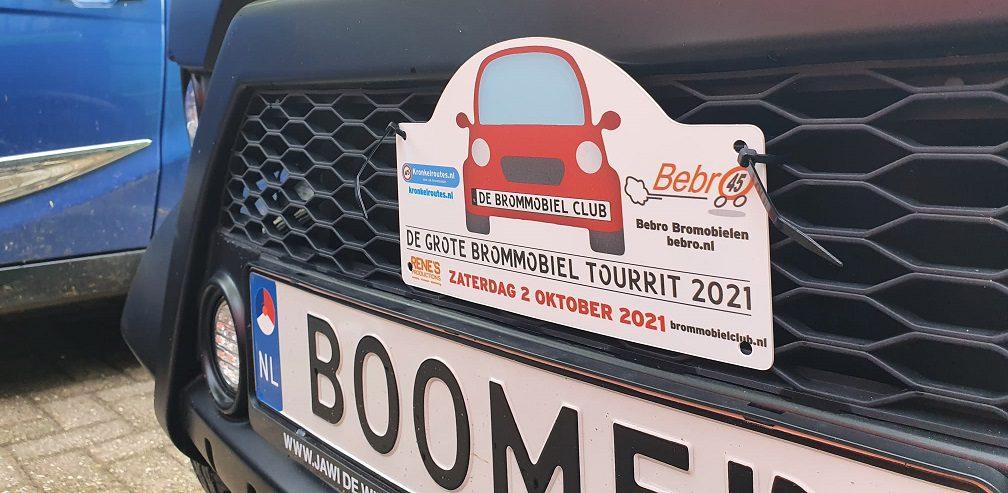 De Grote Brommobiel Tourrit 2021 was een groot succes!